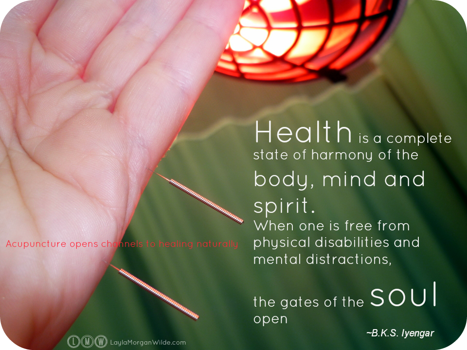 Acupuncture And Iyengar Yoga Connect Body Mind Spirit